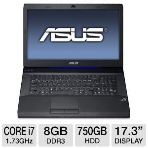 "ASUS 17.3"" Core i7 750GB HDD Laptop (Spanish)"