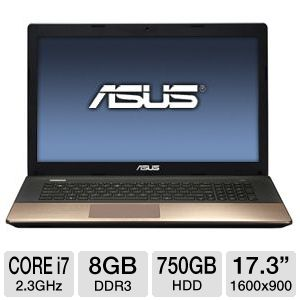"ASUS 17.3"" Core i7 750GB HDD Laptop"