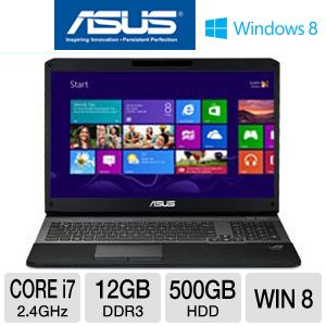 ASUS G75VW 17.3&quot; Core i7 500GB Gaming Notebook