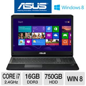 "ASUS G75W 17.3"" Core i7 Gaming Laptop"