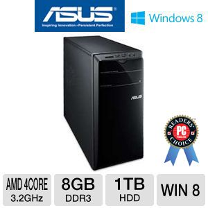 Asus AMD A8 1TB HDD 8GB RAM Desktop PC