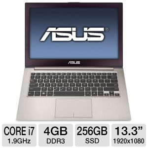 "ASUS ZENBOOK 13.3"" Core i7 256GB SSD Ultrabook"