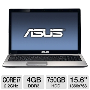 ASUS 15.6&quot; Core i7 4GB/750GB GT610M Pro Laptop