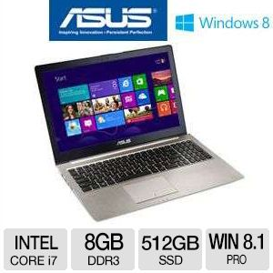 ASUS Zenbook Ultrabook - Core i7, 8GB, 15.6""