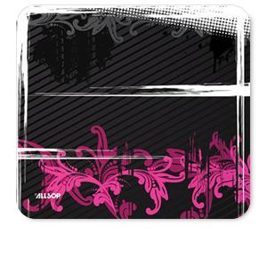 MOUSE PAD (FLORAL URBAN PINK)