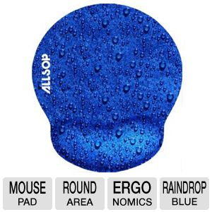 ALLSOP Ergo Memory Foam Mouse Pad