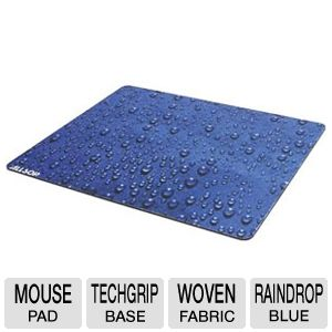 Allsop XL Mouse Pad- Raindrop Blue