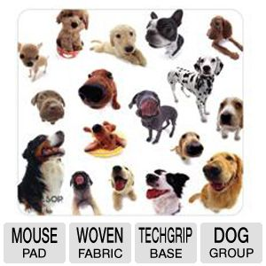 ALLSOP Dog Group Mouse Pad