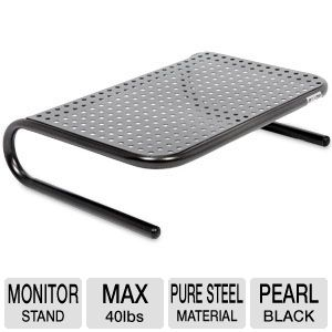 METAL ART JR.(TM) MONITOR STAND (BLACK)