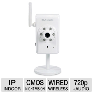 Asante Voyager SMARTBOT Network Security Camera