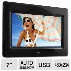 Aluratek ADPF07SF 7&quot; Digital Photo Frame