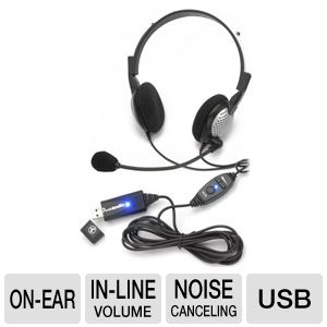Andrea Electronics NC-185VM USB Stereo PC Headset