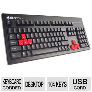 Azio KB528U Clicker Mechanical Keyboard