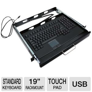 Adesso Rackmount and Keyboard