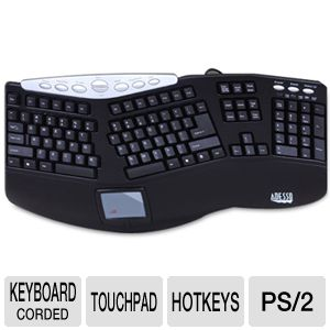 Adesso PS/2 Ergonomic Keyboard