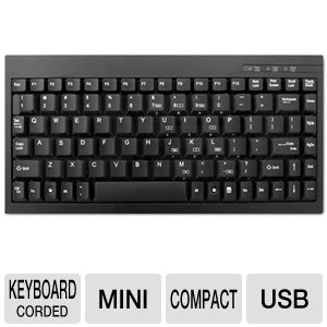 Adesso Mini USB Keyboard