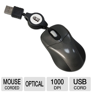 Adesso iMouse S1 Notebook Mini Optical Mouse