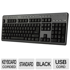 Adesso AKB-131HB Desktop MultiMedia Keyboard 