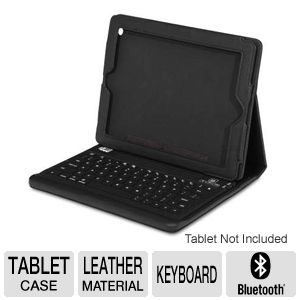 Adesso Detach BLTH Keyboard/Case for iPad 2/3/4