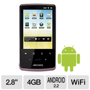 "Archos 28 Android 2.8"" Internet Touch Tablet"