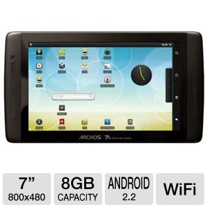Archos 70 Internet Tablet - 8GB Android 2.2