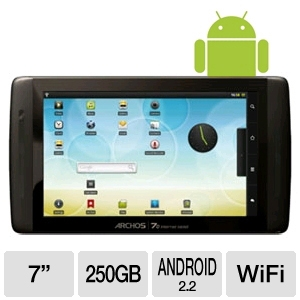 "Archos 501586 7o Android 7"" Internet Tablet"