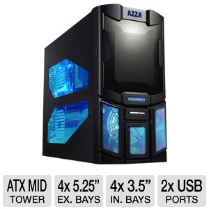 Azza Sparton 102E ATX Mid Tower Gaming Case
