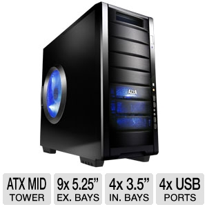 Azza Helios 910 ATX Mid Tower Gaming Case