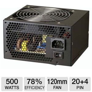 Azza 500W Alpha 500 Power Supply