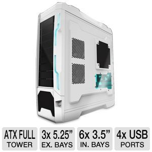 Azza Genesis 9000 ATX Full Tower Case in White