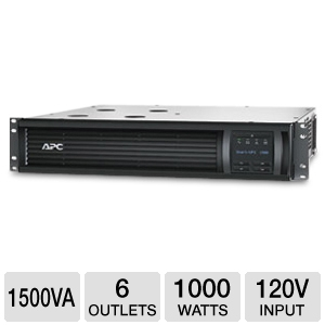 APC 2U 1500VA 6 Outlet Smart-UPS