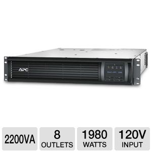 APC 2U 2200VA 8 Outlet Smart-UPS 