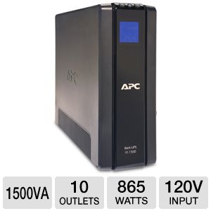 APC Back-UPS BX1500G Battery Backup