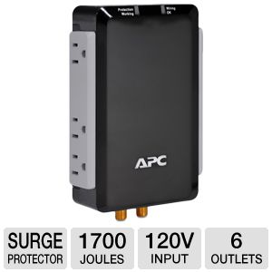 APC Audio/Video Surge Protector