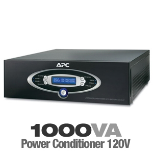 APC J10BLK Power Conditioner & Battery Backup