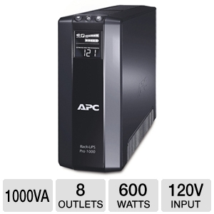 APC BR1000G Back-UPS XS LCD 1000VA UPS Battery Bac