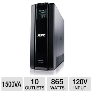 APC BR1500G Back-UPS XS LCD 1500VA UPS Battery Bac