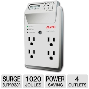 APC P4GC Power-Saving Timer Essential SurgeArrest