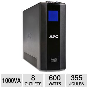 APC BX1000G XS Power-saving Battery Backup