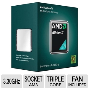 AMD Athlon II X3 455 3.3GHz Triple Core Processor