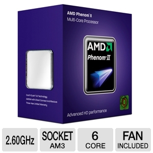 AMD Phenom II X6 1035T 2.60GHz AM3 Processor