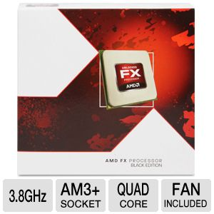 AMD FX-4130 3.8GHz Quad Core AM3+ Unlocked CPU