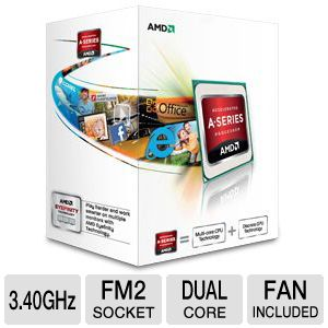 AMD Dual-Core A4-5300 3.4GHz Radeon HD 7480D APU