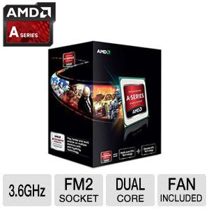 AMD A6-5400K 3.6GHz Dual-Core Processor