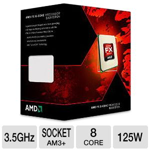 AMD FX-8320 Eight-Core 3.5GHz AM3+ Processor