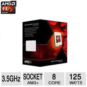 AMD FX-8320 Eight-Core Processor - FD8320FRHKBOX