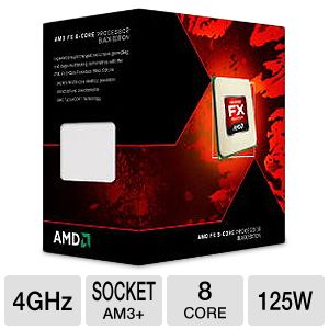 AMD FX-8350 Eight-Core 4GHz AM3+ Processor