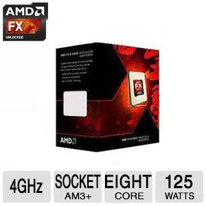 AMD FX-8350 Eight-Core Processor - FD8350FRHKBOX