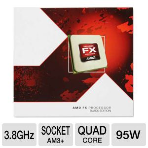 AMD FX-4300 Quad-Core 3.8GHz AM3+ Processor