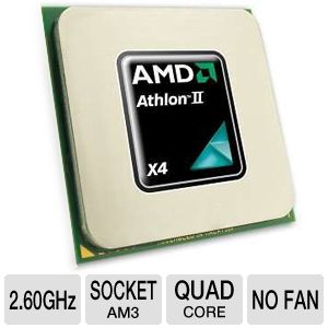 AMD Athlon II X4 620e 2.60GHz Quad-Core OEM CPU